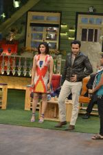 Emraan Hashmi, Prachi Desai at the promotion of Azhar on location of The Kapil Sharma Show on 22nd April 2016
