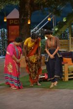 Lara Dutta at the promotion of Azhar on location of The Kapil Sharma Show on 22nd April 2016 (163)_571b602549c8f.JPG