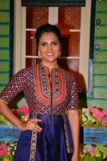 Lara Dutta at the promotion of Azhar on location of The Kapil Sharma Show on 22nd April 2016 (17)_571b619db3f07.JPG