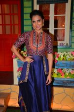 Lara Dutta at the promotion of Azhar on location of The Kapil Sharma Show on 22nd April 2016