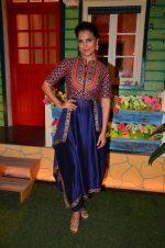 Lara Dutta at the promotion of Azhar on location of The Kapil Sharma Show on 22nd April 2016 (21)_571b5fdc32881.JPG