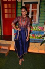 Lara Dutta at the promotion of Azhar on location of The Kapil Sharma Show on 22nd April 2016 (22)_571b5fe416eae.JPG