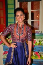 Lara Dutta at the promotion of Azhar on location of The Kapil Sharma Show on 22nd April 2016 (23)_571b5fed979fd.JPG