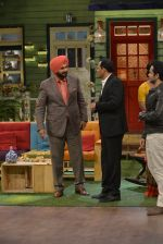 Mohammad Azharuddin at the promotion of Azhar on location of The Kapil Sharma Show on 22nd April 2016