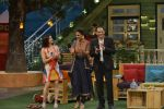 Mohammad Azharuddin, Lara Dutta at the promotion of Azhar on location of The Kapil Sharma Show on 22nd April 2016