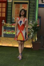 Prachi Desai at the promotion of Azhar on location of The Kapil Sharma Show on 22nd April 2016