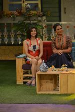 Prachi Desai, Lara Dutta at the promotion of Azhar on location of The Kapil Sharma Show on 22nd April 2016 (112)_571b64f038d65.JPG