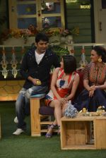 Prachi Desai, Lara Dutta at the promotion of Azhar on location of The Kapil Sharma Show on 22nd April 2016 (120)_571b651d85f35.JPG