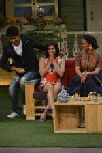 Prachi Desai, Lara Dutta at the promotion of Azhar on location of The Kapil Sharma Show on 22nd April 2016