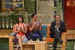 Prachi Desai, Lara Dutta, Mohammad Azharuddin at the promotion of Azhar on location of The Kapil Sharma Show on 22nd April 2016 (112)_571b609edbdf3.JPG