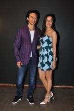 Shraddha Kapoor, Tiger Shroff at Baaghi promotions in Mumbai on 22nd April 2016
