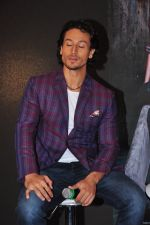 Tiger Shroff at Baaghi promotions in Mumbai on 22nd April 2016