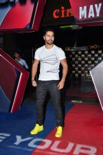 Varun Dhawan at the screening of Captain America on 30th April 2016