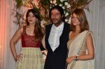 Chunky Pandey at Bipasha Basu and Karan Singh Grover