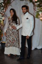 Genelia Deshmukh, Riteish Deshmukh at Bipasha Basu and Karan Singh Grover_s Wedding Reception on 30th April 2016 (241)_5728267d9d189.JPG