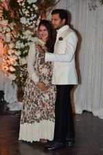 Genelia Deshmukh, Riteish Deshmukh at Bipasha Basu and Karan Singh Grover_s Wedding Reception on 30th April 2016 (245)_5728269cd09a5.JPG