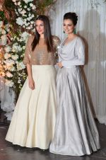 Neha Dhupia, Dia Mirza at Bipasha Basu and Karan Singh Grover_s Wedding Reception on 30th April 2016 (159)_572828865bc12.JPG