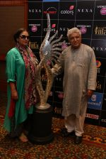 Shabana Azmi & Javed Akhtar at IIFA Voting Weekend on 1st May 2016_5728939ee04a7.JPG