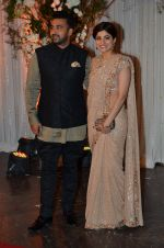 Shamita Shetty, Raj Kundra at Bipasha Basu and Karan Singh Grover