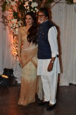 Tabu, Amitabh Bachchan at Bipasha Basu and Karan Singh Grover_s Wedding Reception on 30th April 2016 (293)_57282100747f7.JPG