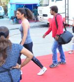Parineeti Chopra is Size zero snapped at Mehboob on 3rd May 2016 (3)_57297e7734b22.JPG