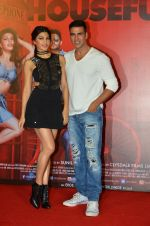 Jacqueline Fernandez, Akshay Kumar at the Launch of the song Taang Uthake from the film Housefull 3 on 6th May 2016
