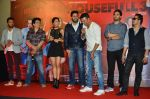 Riteish Deshmukh, Sajid Nadiadwala, Jacqueline Fernandez, Mika Singh, Abhishek Bachchan, Akshay Kumar at the Launch of the song Taang Uthake from the film Housefull 3 on 6th May 2016 (85)_572dfd68c3f5f.JPG