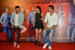 Riteish Deshmukh, Jacqueline Fernandez, Akshay Kumar at the Launch of the song Taang Uthake from the film Housefull 3 on 6th May 2016
