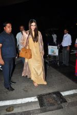 Sonam Kapoor snapped at airport on 7th May 2016