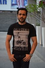Emraan Hashmi at Azhar promotions in association with Gourmet Renaissance at IPL match in Pune on 9th May 2016