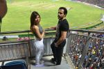 christina bharwani with emran hashmi at Azhar promotions in association with Gourmet Renaissance at IPL match in Pune on 9th May 2016 (1)_57320d4a65b06.JPG