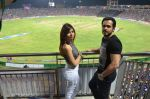 christina bharwani with emran hashmi at Azhar promotions in association with Gourmet Renaissance at IPL match in Pune on 9th May 2016