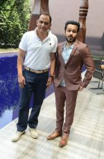 Emraan Hashmi, Mohammad Azharuddin at Azhar press meet in Delhi on 10th May 2016