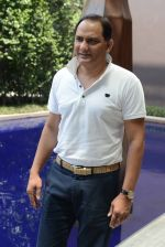 Mohammad Azharuddin at Azhar press meet in Delhi on 10th May 2016