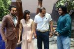 Prachi Desai, Emraan Hashmi, Mohammad Azharuddin at Azhar press meet in Delhi on 10th May 2016