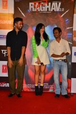 Vicky Kaushal, Sobhita Dhulipala, Nawazuddin Siddiqui at the Trailer launch of Raman Raghav 2.0 in Mumbai on 10th May 2016 (44)_5732eb3d0837d.JPG