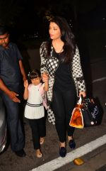 Aishwarya Rai Bachchan leaves for Cannes on 12th May 2016