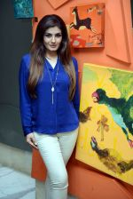 Raveena Tandon snapped during the shoot of her upcoming film Matrthe Mother in Delhi on 12th May 2016