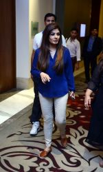 Raveena Tandon snapped during the shoot of her upcoming film Matrthe Mother in Delhi on 12th May 2016 (19)_5735a77c6f989.JPG
