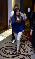 Raveena Tandon snapped during the shoot of her upcoming film Matrthe Mother in Delhi on 12th May 2016 (20)_5735a77f12421.JPG