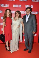 Sanjay Khan, Suzanne Khan, Zarine Khan at Hello Magazine_s Coffe Table Book - Iconic Jewels Of India on 12th May 2016  (4)_57358ae531f23.JPG