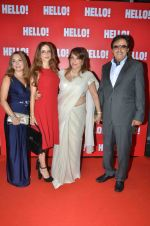 Sanjay Khan, Suzanne Khan, Zarine Khan at Hello Magazine_s Coffe Table Book - Iconic Jewels Of India on 12th May 2016  (7)_573589540b0f1.JPG