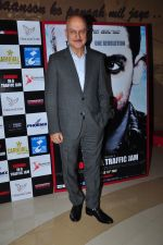 Anupam Kher at Buddha in traffic premiere on 12th May 2016 (6)_5736cc9b590e4.JPG