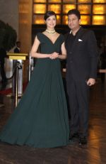 Bhushan Kumar, Divya Kumar at Preity Zinta Wedding Reception in Mumbai on 13th May 2016