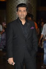 Karan Johar at Preity Zinta Wedding Reception in Mumbai on 13th May 2016