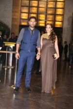 Yuvraj Singh at Preity Zinta Wedding Reception in Mumbai on 13th May 2016