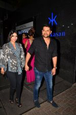 Aftab Shivdasani snapped post dinner in Mumbai on 14th May 2016