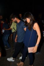 Shahid Kapoor and Mira Rajput snapped post dinner in Mumbai on 14th May 2016 (14)_57385577a3947.JPG