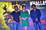 Zarine Khan, Sachiin Joshi, Ram Gopal Varma at Khallas song launch from film Veerappan in Mumbai on 14th May 2016 (93)_57385816ec63e.JPG