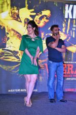 Zarine Khan, Sachiin Joshi at Khallas song launch from film Veerappan in Mumbai on 14th May 2016